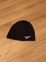 Мужская зимняя шапка, обычная черная шапка на флисе