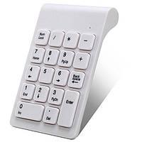 Міні-клавіатура, бездротова @LUX K319G NumPad Slim, Black, USB