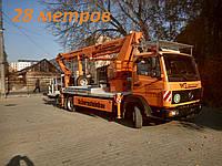 Услуги, аренда автовышки до 28 метров 066-355-65-57