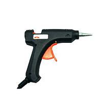 Клеевой пистолет маленький Carnation, черный, для стерженя 11 мм, электроинструмент для дома,  крепежный инструмент, пистолет клеевой, инструмент
