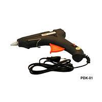 Клеевой пистолет большой Dahlia черный, для стерженя 11 мм, электроинструмент для дома,  крепежный инструмент, пистолет клеевой, инструмент ручной