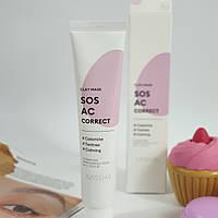 Глиняная маска для проблемой кожи SOS AC correct от Missha