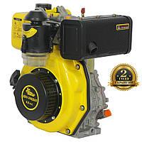 Двигатель ДВУ-300ДШЛ (6,0 л.с.) +БЕСПЛАТНАЯ ДОСТАВКА! вал 25,0 мм, дизельный шлицевой КЕНТАВР ДВЗ-300ДШЛ