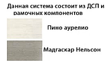 """Стильний комод 2Д4Ш """"Орегон"""" фабрики Сокме, фото 3"""