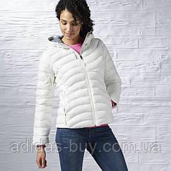 Куртка женская Reebok оригинал белая тёплая