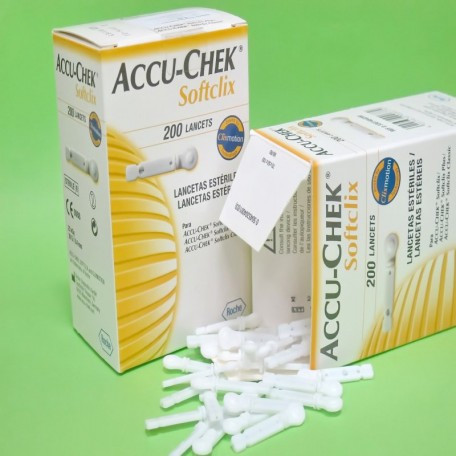 Ланцеты Accu Chek Softclix  (Акку Чек)