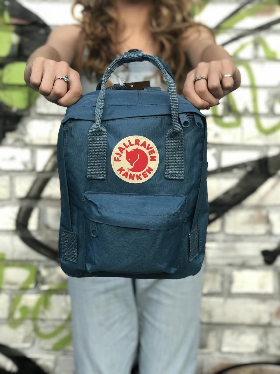 Рюкзак Kanken Mini, синий