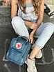 Рюкзак Kanken Mini, синий, фото 4