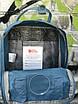 Рюкзак Kanken Mini, синий, фото 7