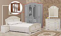 Спальня 5Д Луиза патина  (Світ меблів), фото 1