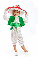Детский карнавальный костюм для мальчика Гриб «Мухомор» 100-110 см, бело-красный