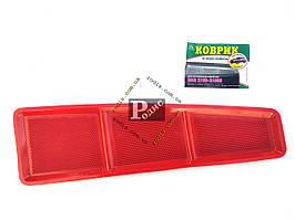 Коврик на торпеду антискользящие ВАЗ 2108-099 (высокая торпеда) красные