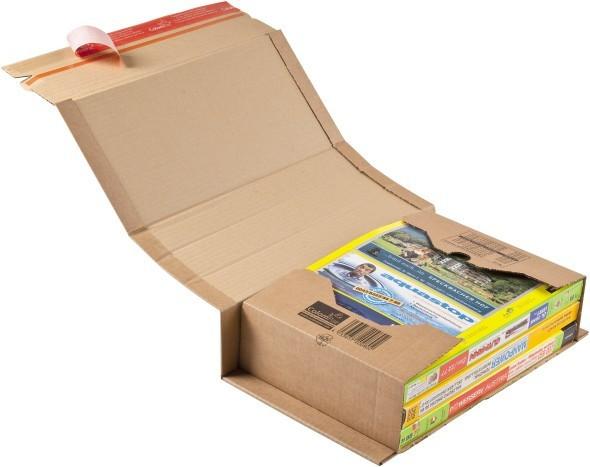 Упаковка для пересылки книг, Colompac, толщина от 10 до 80 мм 302х215 мм