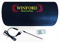 "Активный сабвуфер Winford бочка 8"" 300 Вт+Bluetooth, фото 5"
