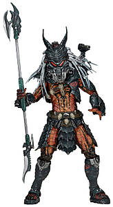 Фігурка NECA Хижак ватажок клану. PREDATOR CLAN LEADER