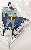 Свеча большая (7см) ручной работы в торт - Супер герой Бэтмен/ Бетмен / Batman