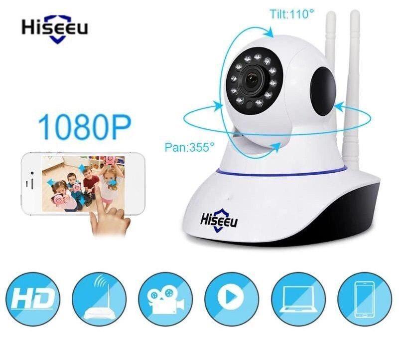 Wi-Fi IP камера Hiseeu FH1A 1080p