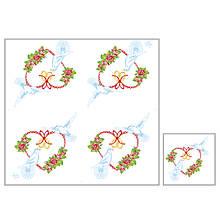 Серветки столові Luxy тришарові 33х33 см 20 шт. Любов надає крила  (4820164964798)