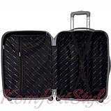Дорожный чемодан на колесах Bonro Smile большой синий (10052802), фото 3