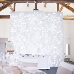 Гирлянда Водопад 3 м х 2,5 м, 480 LED + статический режим (Штора, Занавес, Curtain lights)