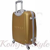 Дорожный чемодан на колесах Bonro Smile большой золотой (10052814), фото 2