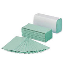 ➤ Полотенце бумажное зеленый (V) 160 шт. 25 шт. / Уп