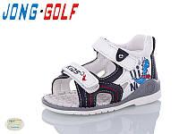 Сандалии летние детские для мальчика A880-7 (23-28) Jong-Golf купить оптом на 7км