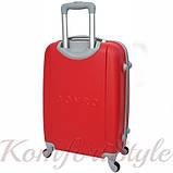 Дорожный чемодан на колесах Bonro Smile маленький бордовый (10052001), фото 2