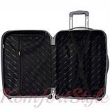 Дорожный чемодан на колесах Bonro Smile маленький бордовый (10052001), фото 3