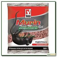 Родентицид для знищення гризунів Мурін форте мініпеллети 100г (8021235840096)
