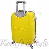 Дорожный чемодан на колесах Bonro Smile маленький желтый (10052000), фото 2