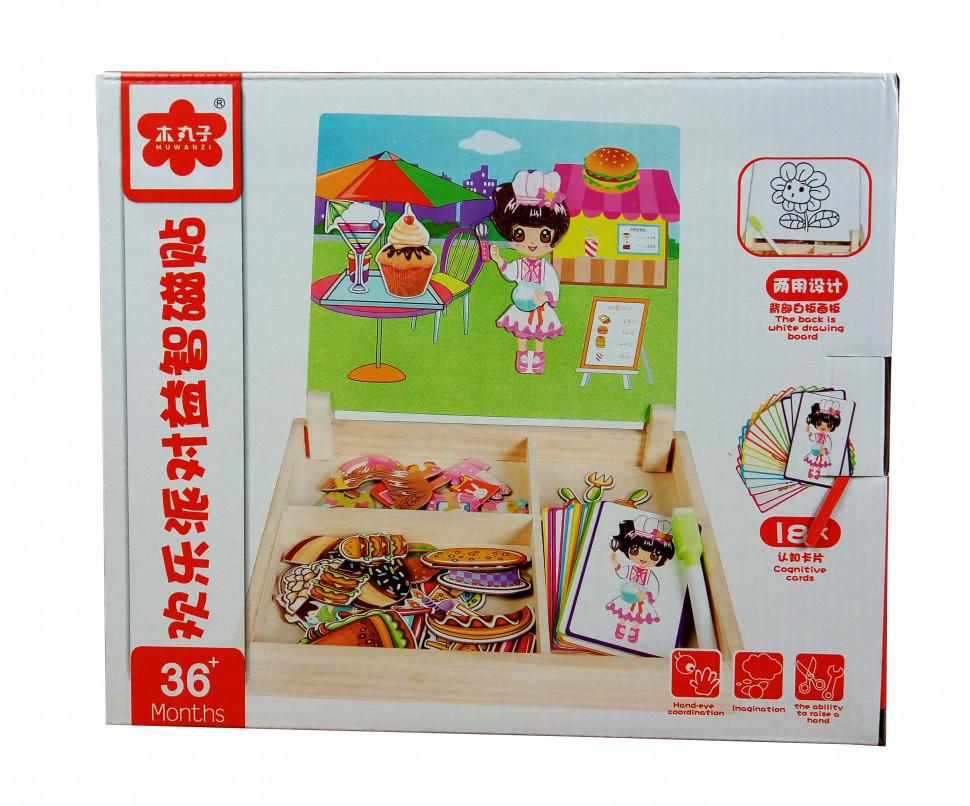 Деревянная игрушка Гардероб MD 1339 (Кондитерская), детская игрушка, подарок для ребенка