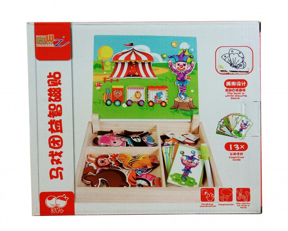 Деревянная игрушка Гардероб MD 1339 (Цирк), детская игрушка, подарок для ребенка