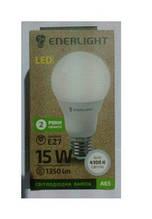 Стандарт Лампа світлодіодна ENERLIGHT A65 15Вт 4100K E27