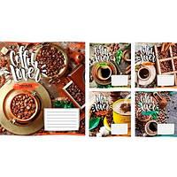 Зошит на 24 аркушів у лінійку 1 Вересня Coffee Lover