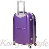 Дорожный чемодан на колесах Bonro Smile маленький фиолетовый (10052009), фото 2