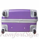 Дорожный чемодан на колесах Bonro Smile маленький фиолетовый (10052009), фото 6