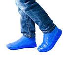 Многоразовые силиконовые бахилы для защиты обуви от дождя и грязи Waterproof silicone shoe cover S-M-L ОПТ, фото 8