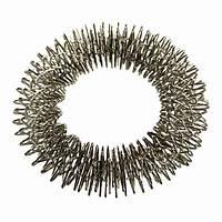 Массажное кольцо Су Джок для руки омедненное, никелированное массажер