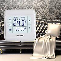 Сенсорный терморегулятор для инфракрасных обогревателей С07.H3  Белый