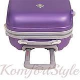 Дорожный чемодан на колесах Bonro Smile маленький розовый (10052016), фото 7
