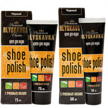 Крем для взуття Blyskavka 75мл чорний ТЮБІК (4820055140331)