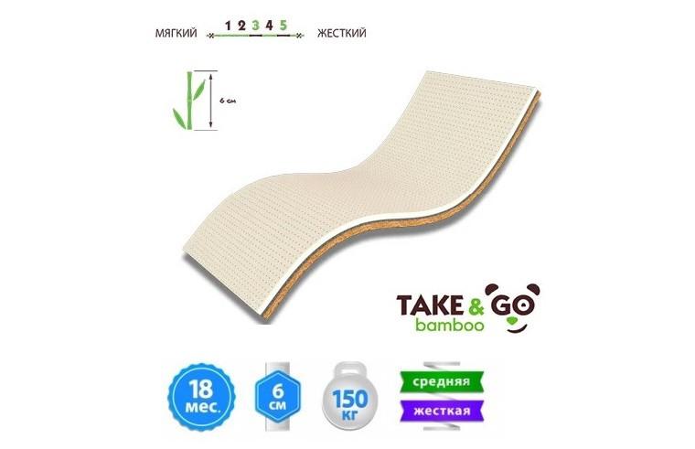 Мини-матрас Take&Go Bamboo Ultra Kokos