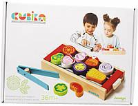 """Детский набор """"Барбекю"""" Cubika 14347, детская игрушка, подарок для ребенка"""