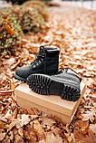 🔥 Ботинки женские Timberland 6-Inch Boots Black Termo зимние теплые, фото 4