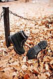 🔥 Ботинки женские Timberland 6-Inch Boots Black Termo зимние теплые, фото 5