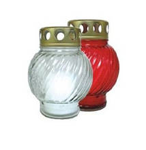 Лампадка стеклянная шарик 12ч. 20шт / ящ