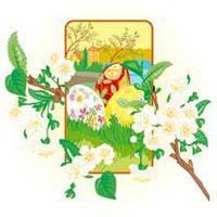 Серветки столові La Fleur двошарові 33х33 см 20 шт. Весняний цвіт  (4820164965146)