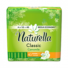 Прокладка Naturella Classic 4 каплі 40  шт