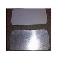 Крышка из алюминиевой фольги + картон (SP M2L) 21 * 15.5 см. 100шт / уп